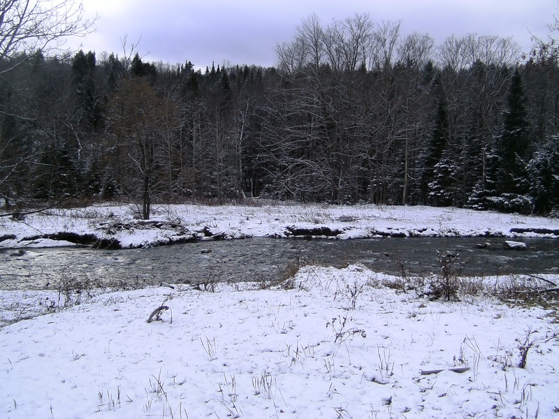 VT 'Waits River' in the winter.